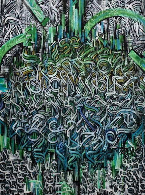 "Alex ""Defer"" Kizu, 'Fortress of Solitude', 2019, ArtLife Gallery"