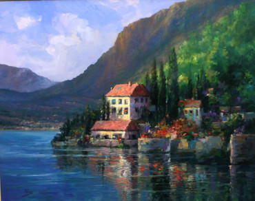 , 'Lake Como View,' , The Loft Fine Art