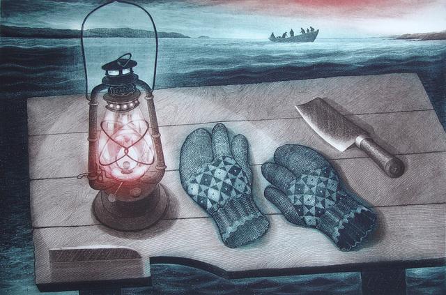 , 'For Edgar Glover, The Splitting Table,' 1999, Winchester Galleries