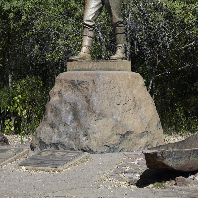 , 'David Livingstone Memorial, Victoria Falls, Zimbabwe,' 2015, Division of Labour
