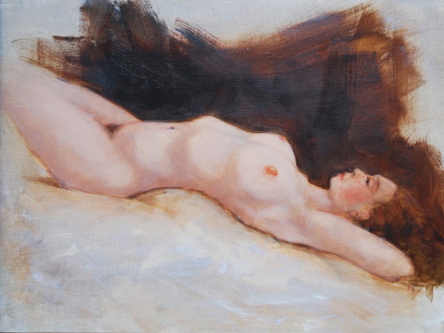 , 'Reclining Nude,' 2017, Joshua Tree Art Gallery