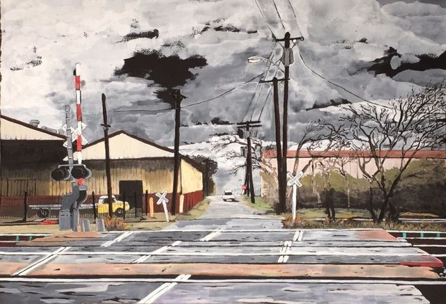 , 'Tracks,' 2016, Ro2 Art