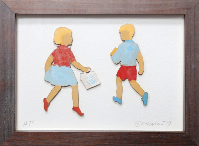 David Bromley, 'Girl and Boy Shopping', ca. 2010, RoGallery