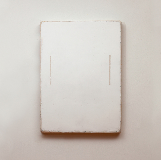 , 'White with two Lines,' 2014, annex14