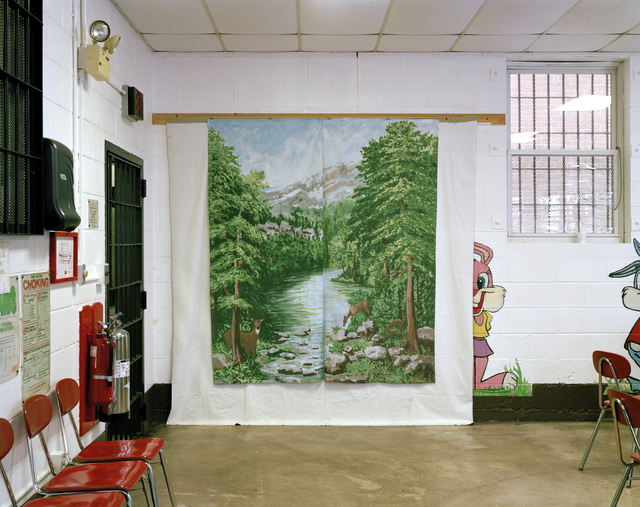 , 'Woodbourne Correctional Facility, New York (from the series Prison Landscapes),' 2005, Cantor Fitzgerald Gallery, Haverford College