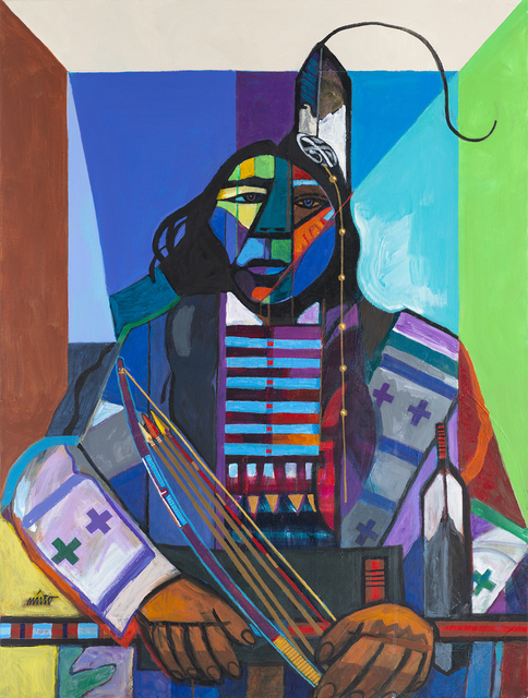 , 'Kicking Bear,' 2018, Ventana Fine Art