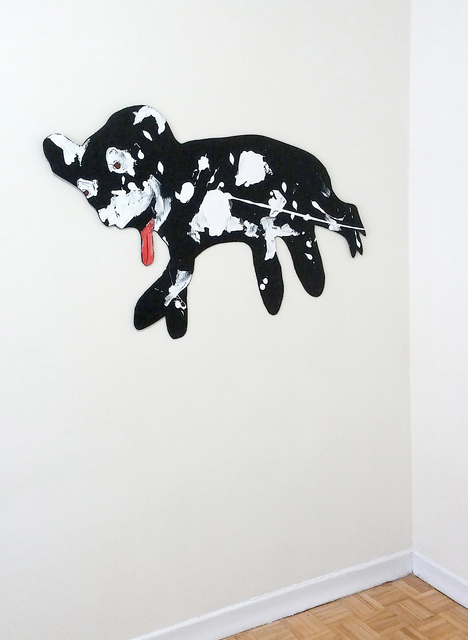 , 'Paint Dog,' 2017, Robert Kananaj Gallery