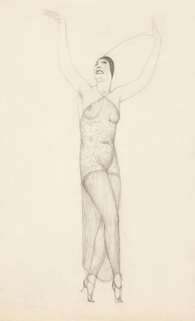 , 'Performance,' ca. 1922, Galerie Bei Der Albertina Zetter