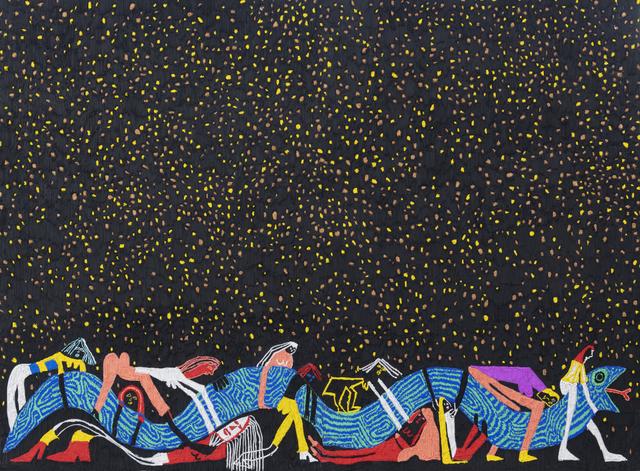 , 'Wrestling Snake,' 2018, Braverman Gallery