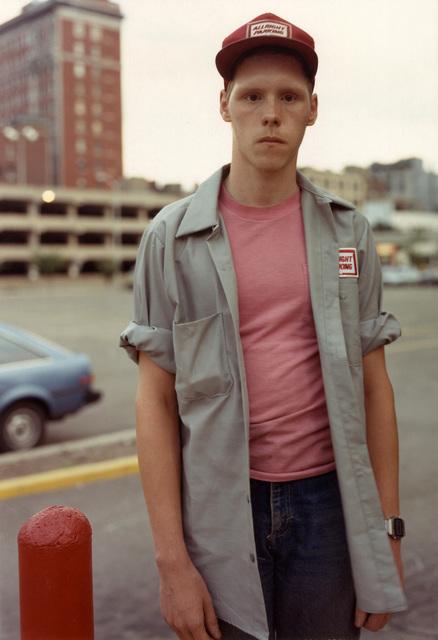 , 'Parking Attendant, Binghamton, NY,' 1987, Laurence Miller Gallery