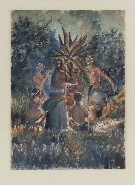 , 'The Mhlamba Dance,' 1956, Gallery MOMO