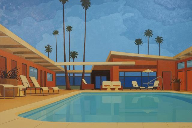 , 'Palm Springs Hotel,' 2015, Cynthia Corbett Gallery