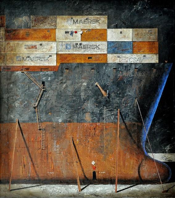 Juan Ranieri, 'XXI Century Noah', 2017, Painting, Acrylic on canvas, Smart Gallery BA