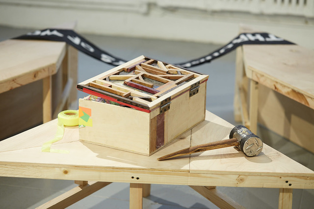 , 'Toolbox,' 2016, EFA Project Space