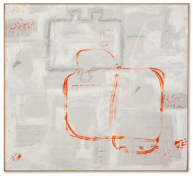 , 'Tempi d'oro per i numeri infiniti,' 1962, Galerie Michael Hasenclever