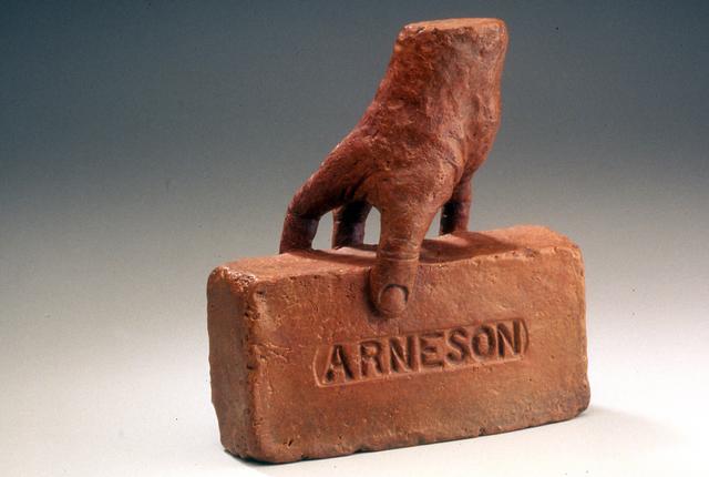 Robert Arneson, 'Hand Brick', 1991, Brian Gross Fine Art