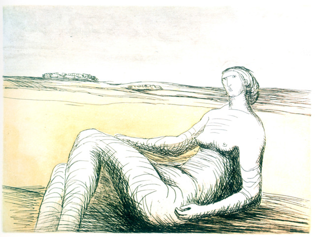 , 'Reclining Figure (plate 3),' , Marlborough Gallery