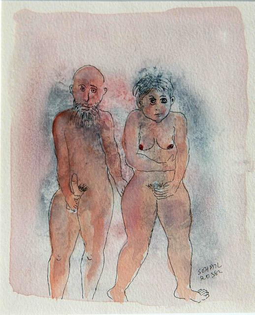 , 'Untitled (Nude woman and man),' 1982, The Noble Sage Collection