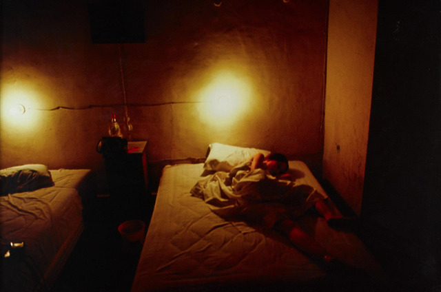 , 'Suzanne in yellow hotel room, Hotel Seville, Merida, Mexico,' 1981, Galleria Pack