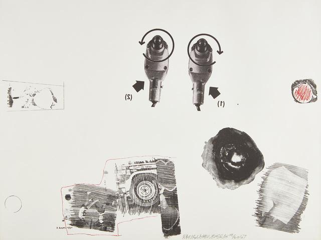 Robert Rauschenberg, 'Test Stone 5', 1967, Phillips