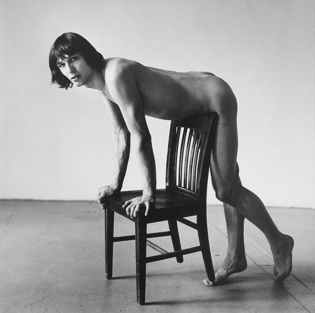 , 'Daniel Schock Leaning Against Chair,' 1981, Mai 36 Galerie