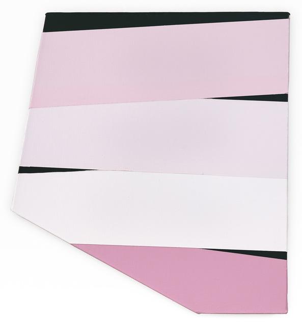 , 'Pink/black,' 2018, David Richard Gallery