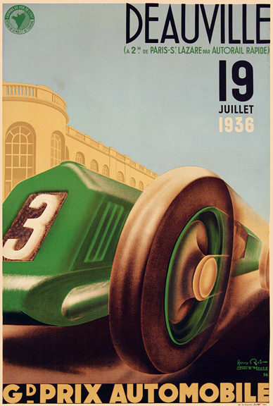 , 'GRAND PRIX OF FRANCE - DEAUVILLE 1936,' 1936, Omnibus Gallery