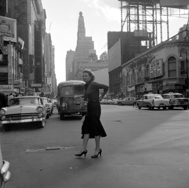 , 'VM1956W03427 – New York, NY, 1956 Woman in Street,' 2015-2017, KP Projects