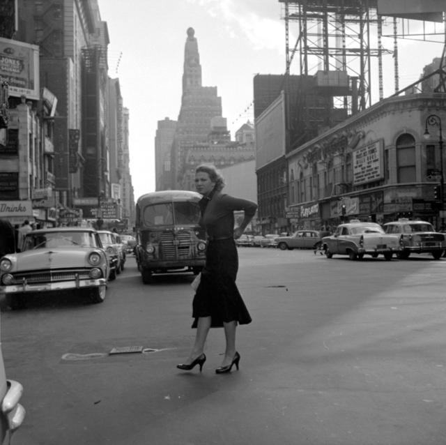 Vivian Maier, 'VM1956W03427 – New York, NY, 1956 Woman in Street', 2015-2017, KP Projects