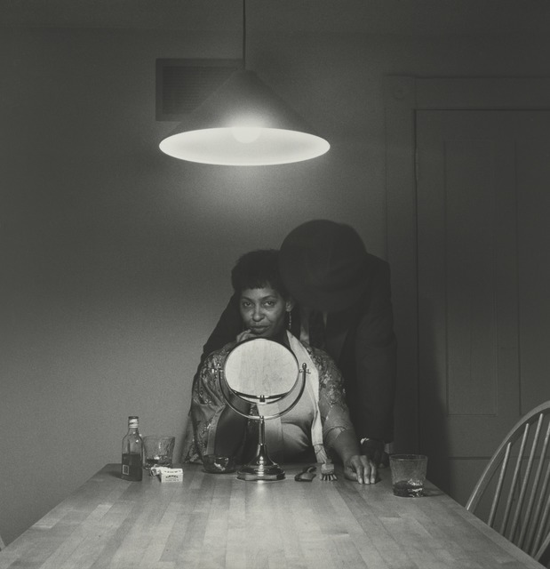 , 'Untitled (Man and mirror) (from Kitchen Table Series),' 1990, Guggenheim Museum