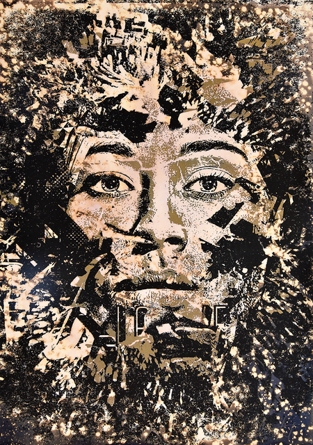 Vhils, 'Entropy', 2013, PRINTS AND PIECES