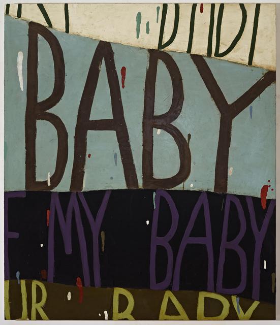 , 'Big Baby,' 2016, Tayloe Piggott Gallery