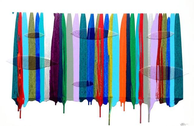 , 'Fils I Colors, CCVII,' 2014, Michael Warren Contemporary