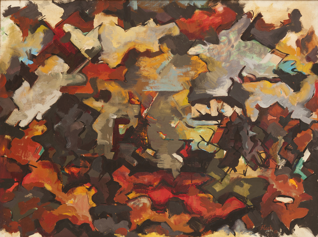 , 'Abstract Expressionist Landscape (With Clouds),' 1951, Hollis Taggart Galleries
