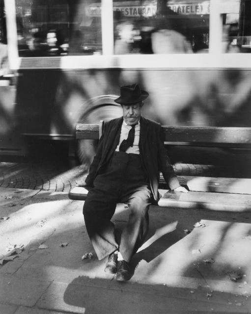 , 'Homme sur un Banc,' 1954, Osborne Samuel
