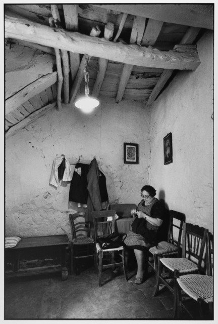 , 'Woman sewing at home, Madonie Mountains, Sicily, Italy ,' 1974, Gallery 270