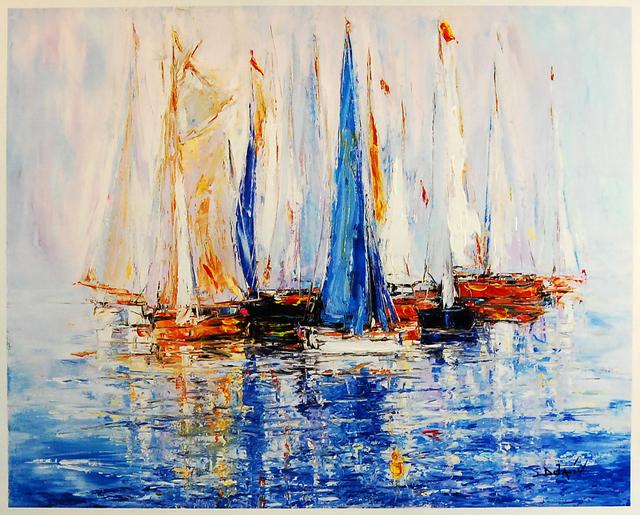 , 'Sail Boats,' , Baterbys Art Gallery