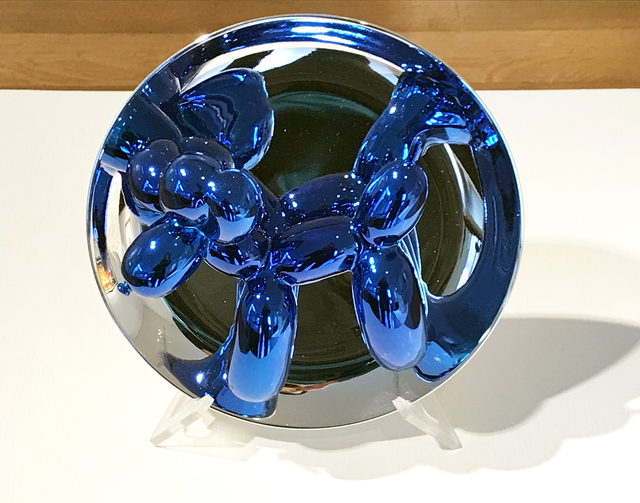 Jeff Koons, 'Balloon Dog Plate', 2002, Eckert Fine Art
