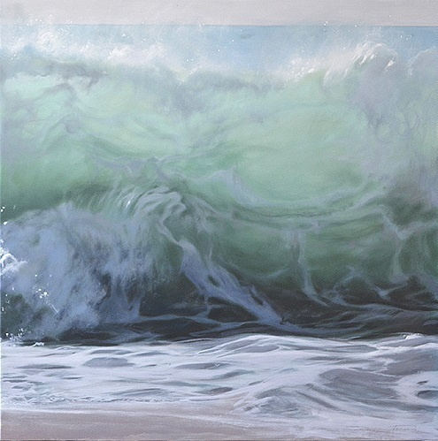 , 'the foam of the waves, part 2 of a diptych,' , GALERIA JORDI BARNADAS