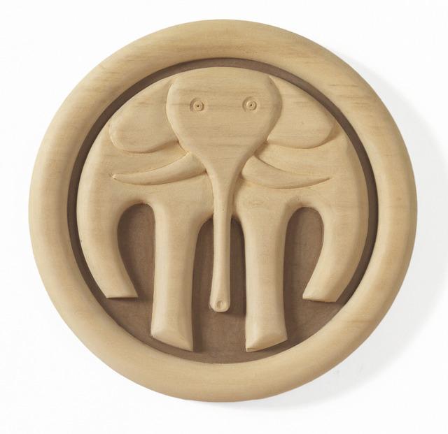 , 'Elephant Plaque,' 2012, Gallery NAGA