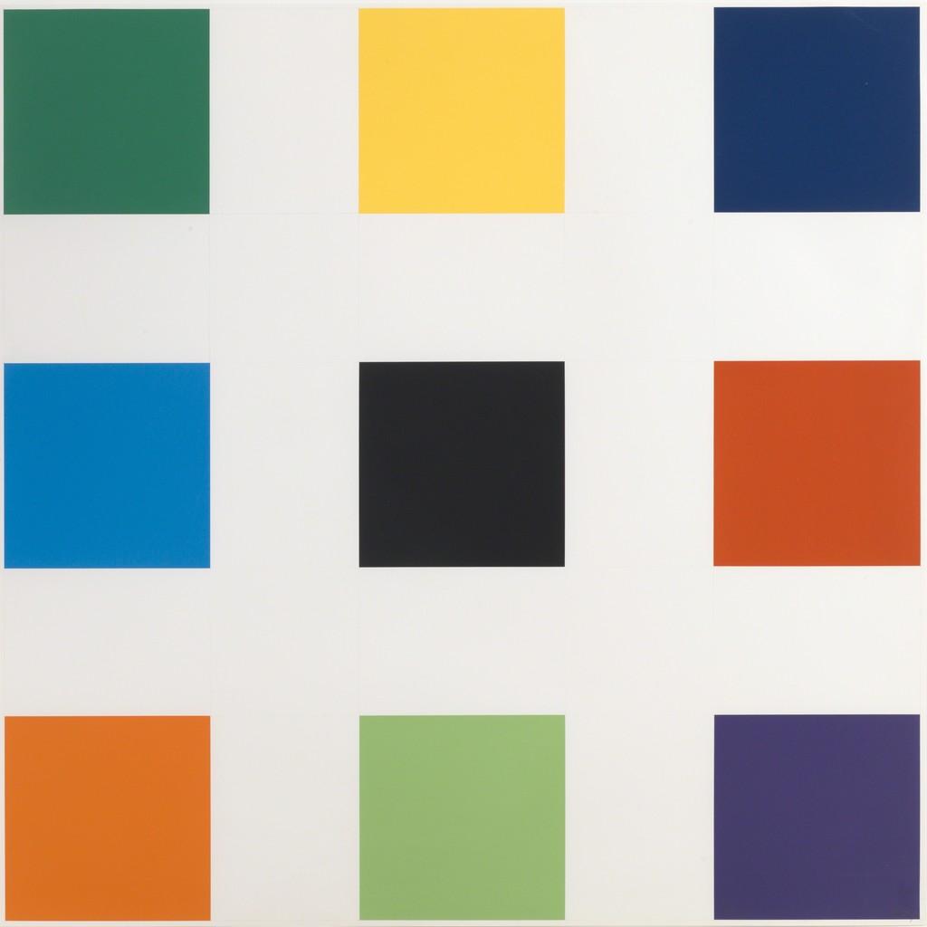 "Ellsworth Kelly, ""Nine Squares,"" 1977"