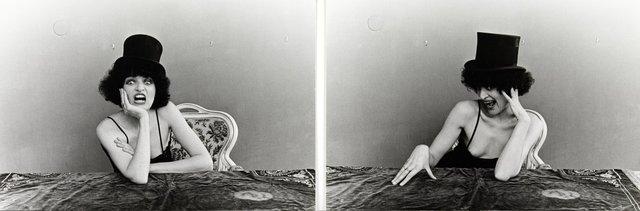 , 'Renee ou Rene - mit Zylinder,' 1976, Richard Saltoun