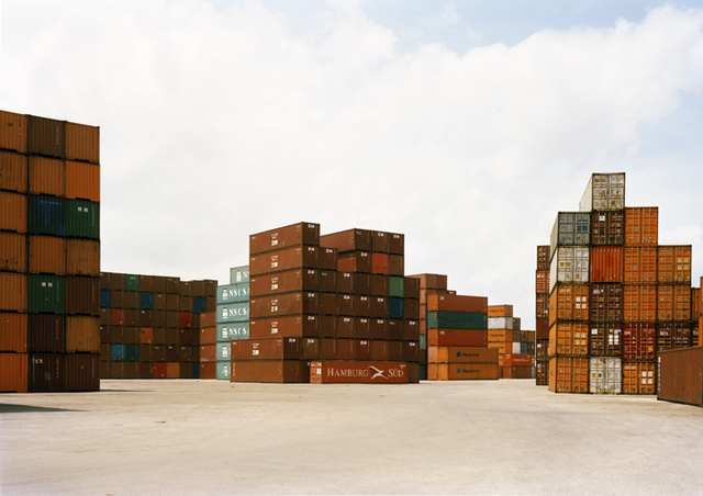 , 'Untitled (VS-15-11) Stacked Containers,' 2015, Yancey Richardson Gallery