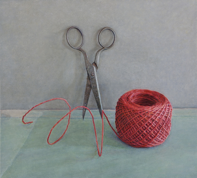 , 'Scissors and Red String,' 2012, Nancy Hoffman Gallery
