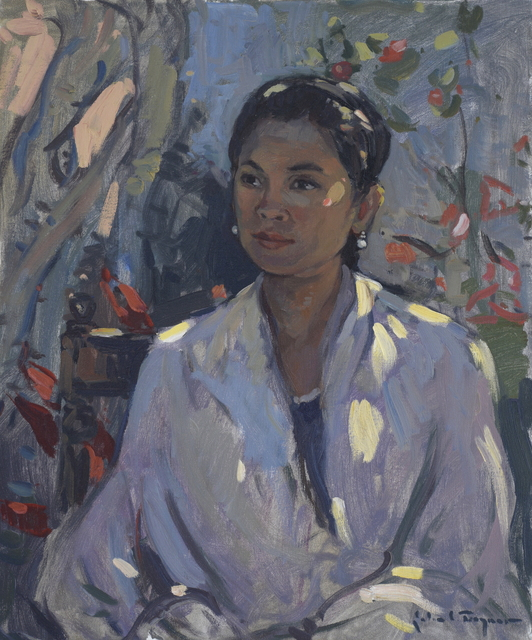 , 'Lady in White,' , J. Cacciola Gallery