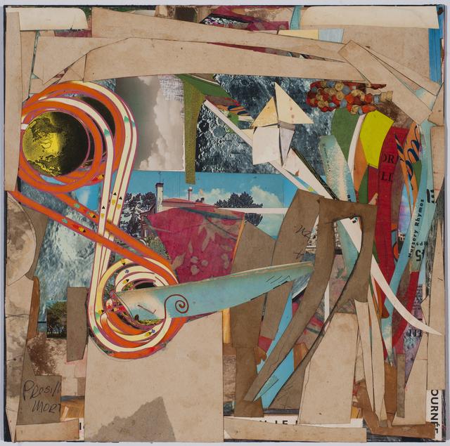 , 'Blue Elephant,' 2017, Conduit Gallery