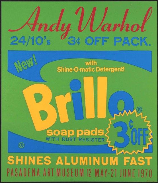Andy Warhol, 'Brillo ', 1970, Alpha 137 Gallery