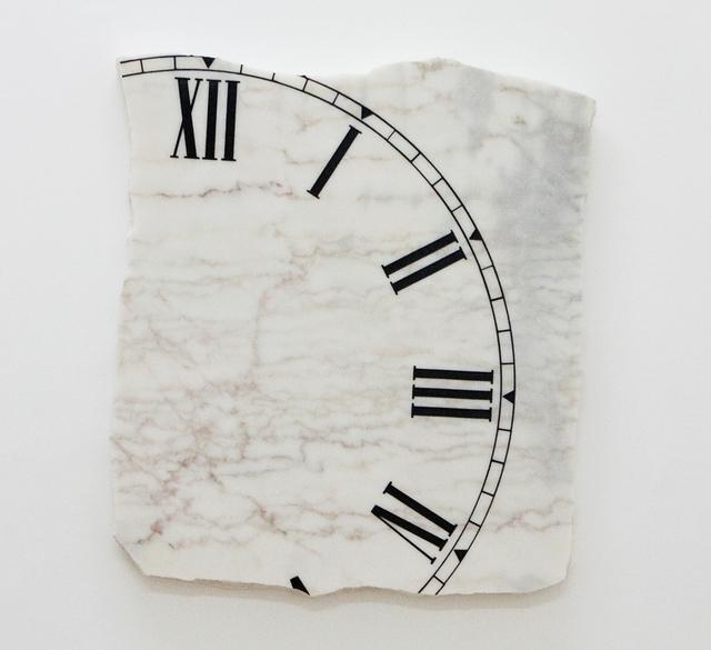 , 'Untitled, Marble clock,' 2010, Galeria Mário Sequeira