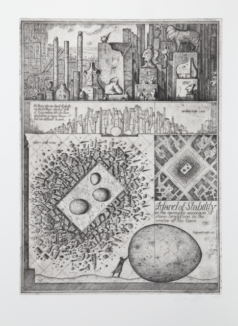 Brodsky & Utkin, 'Island of Stability from Brodsky and Utkin: Projects 1981 - 1990', 1990, RoGallery