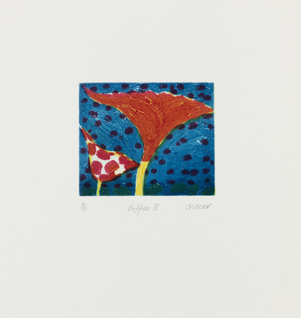 , 'Poppies III,' ca. 1994, Flowers